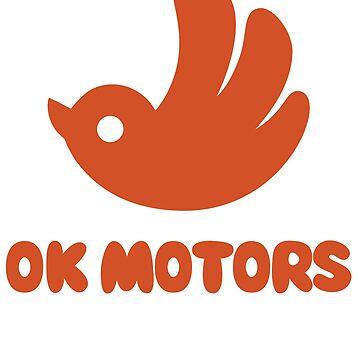 OK MOTORS by 8-bit-hobo