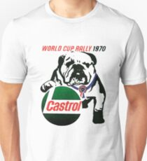 1970 World Rally Bulldog Castrol Unisex T-Shirt
