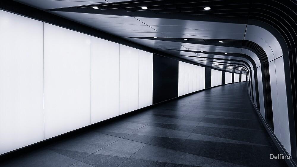 Kings Cross LED Tunnel by Delfino