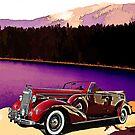1938 Buick At Lake Tahoe by crimsontideguy