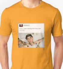 Blackbear tweet  Unisex T-Shirt