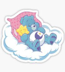 Sleeping Care Bear Sticker