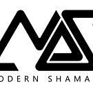 Modern Shamans Logo Black by sourceindie
