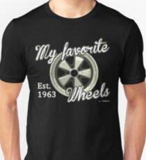 My favorite wheels fuchs Unisex T-Shirt