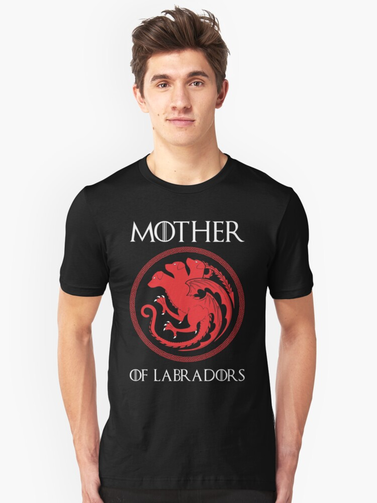 MOTHER OF LABRADORS Unisex T-Shirt Front