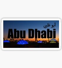 Abu Dhabi 2 Sticker