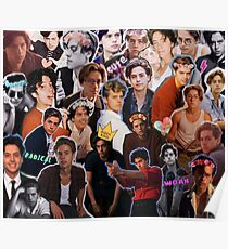 Cole Sprouse Collage Poster
