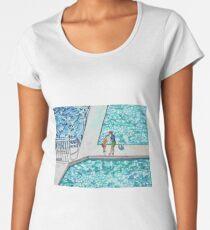 Abstract Iceburg's pool Women's Premium T-Shirt