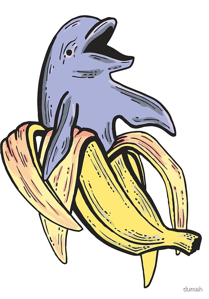 Banana Dolphin by dumah