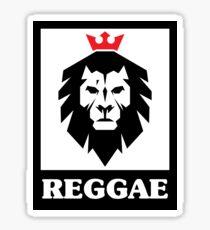 Reggae Street Art Lion Graffiti Sticker