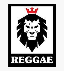 Reggae Street Art Lion Graffiti Photographic Print