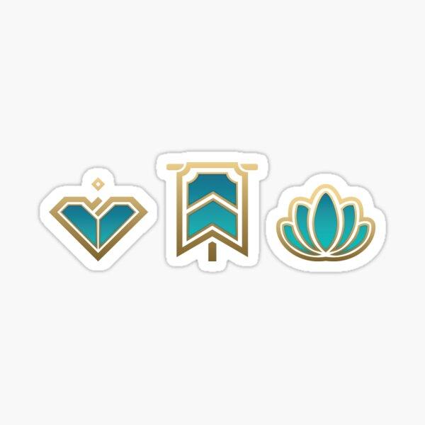 League of Legends Honor Sticker Pack Sticker