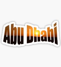 Abu Dhabi Sticker