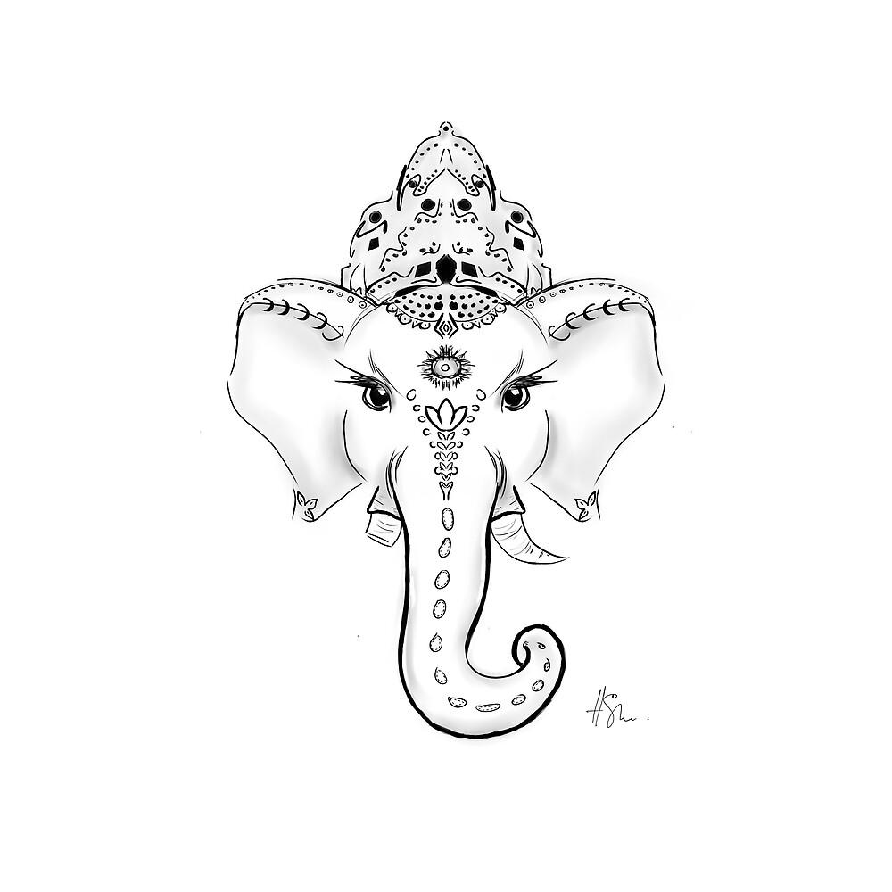 Ganesha by HellenSh