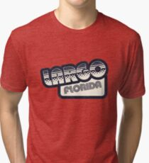 Largo, Florida | Retro Halftone Tri-blend T-Shirt