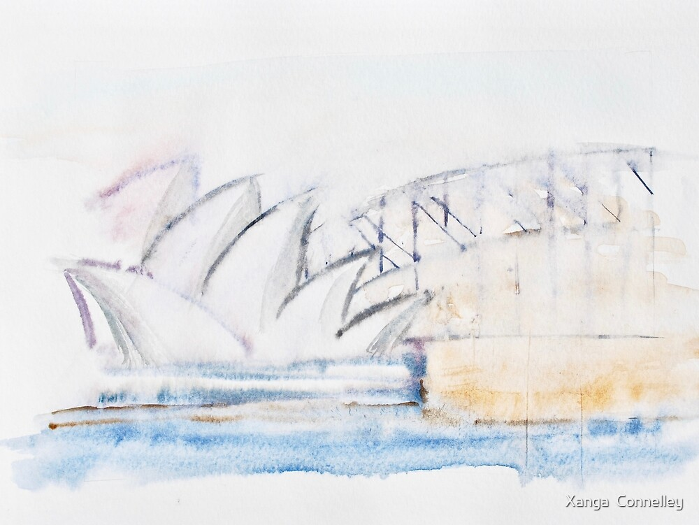 Sydney harbour by Xanga  Connelley