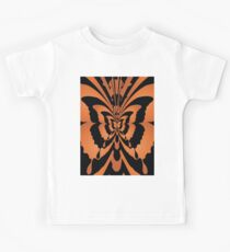 Butterfly Orange Black Kids Clothes