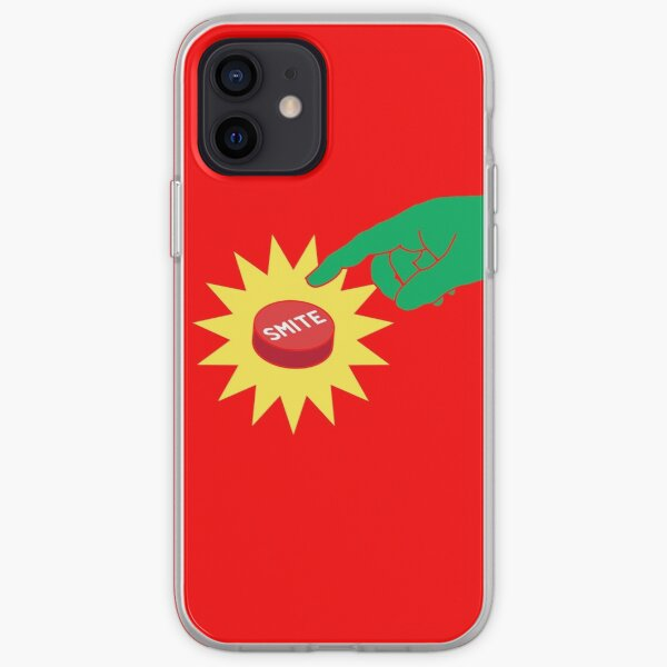 SMITE! Finger on the button... iPhone Soft Case
