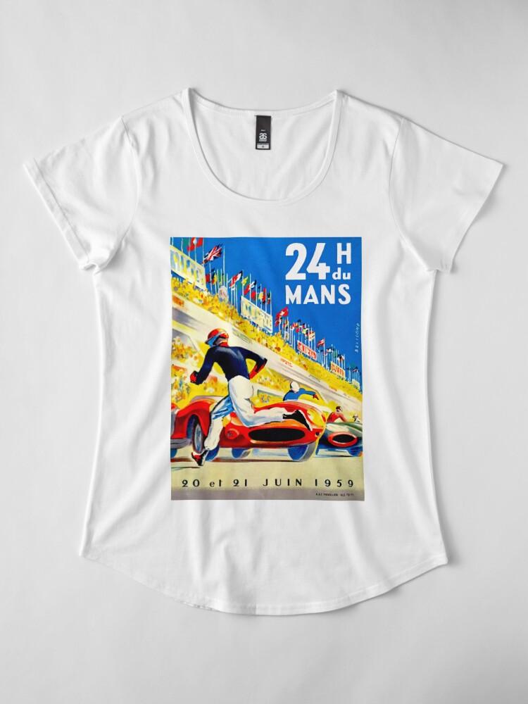 """Alternative Ansicht von """"MANS"""" 24 Stunden Grand Prix Autorennen Frauen Premium T-Shirt"""