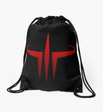 Quake III Drawstring Bag