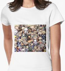 Camiseta entallada para mujer ¿De verdad amas bakugou katsuki
