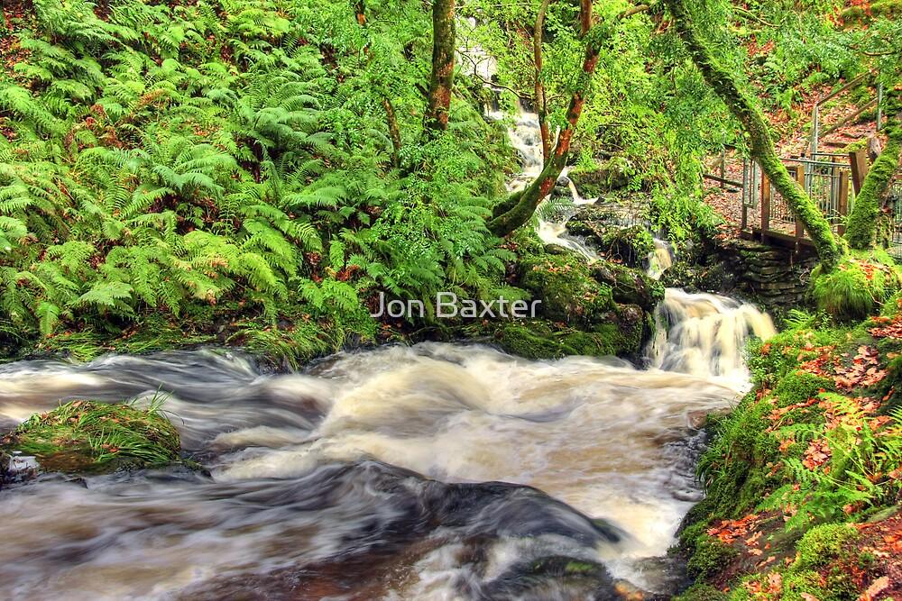 Dolgogh falls  by Jon Baxter