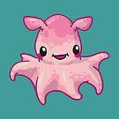 Dumbo Octopus by bytesizetreas