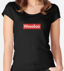 WEEABOO Women's Fitted Scoop T-Shirt