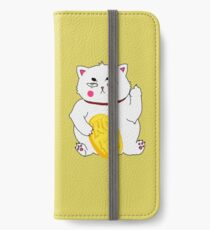 Maneki-nope iPhone Wallet/Case/Skin