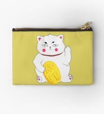 Maneki-nope Zipper Pouch