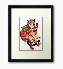 tokyo mew mew power strawberry ichigo Framed Print