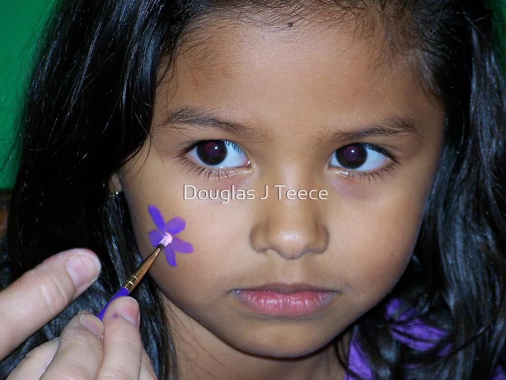 A Budding Young Flower by Douglas J Teece