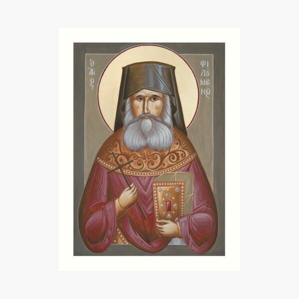 St Philoumenos of Jacob's Well Art Print