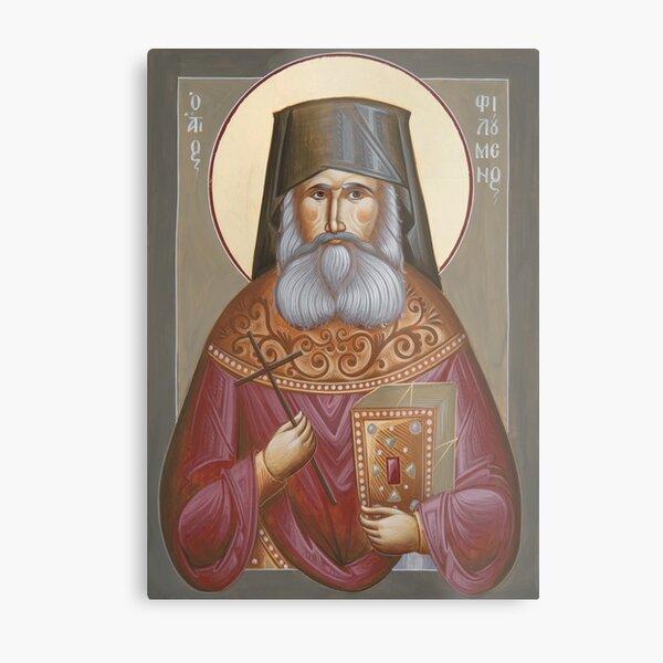 St Philoumenos of Jacob's Well Metal Print