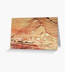Canyon de Chelley Petroglyphs Greeting Card