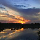 Fitzroy River sunset 1 WA by robertb