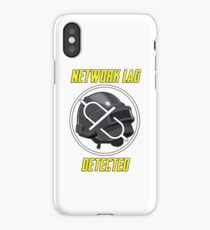 Network Lag Detected iPhone Case/Skin