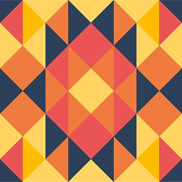 Pattern - 4, Warm sunset by sawdust07