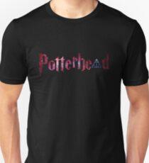 Galaxy hallows and red galaxy potterhead - HP Unisex T-Shirt