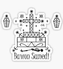 Veve Bawon Samedi Sticker