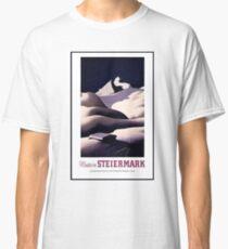 Vintage Austria Travel Poster Classic T-Shirt