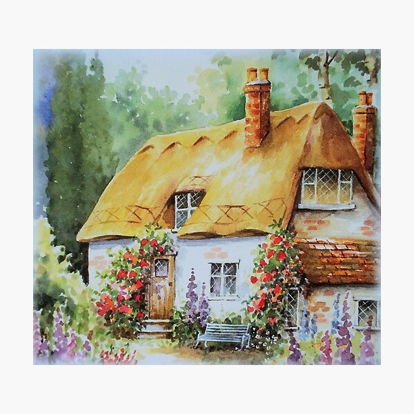 My dream cottage Photographic Print
