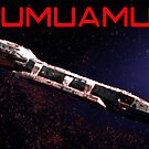 Oumuamua: The Messenger by EyeMagined