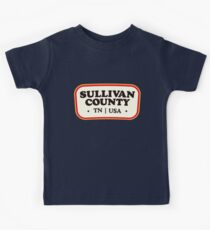 Sullivan County | Retro Badge Kids Tee