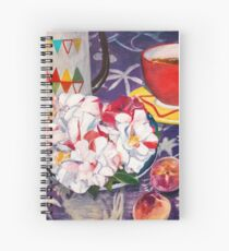 Coffee and Peaches Spiral Notebook