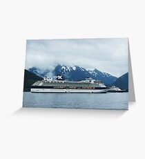 Celebrity Cruise Ship 'Infinity'  Greeting Card