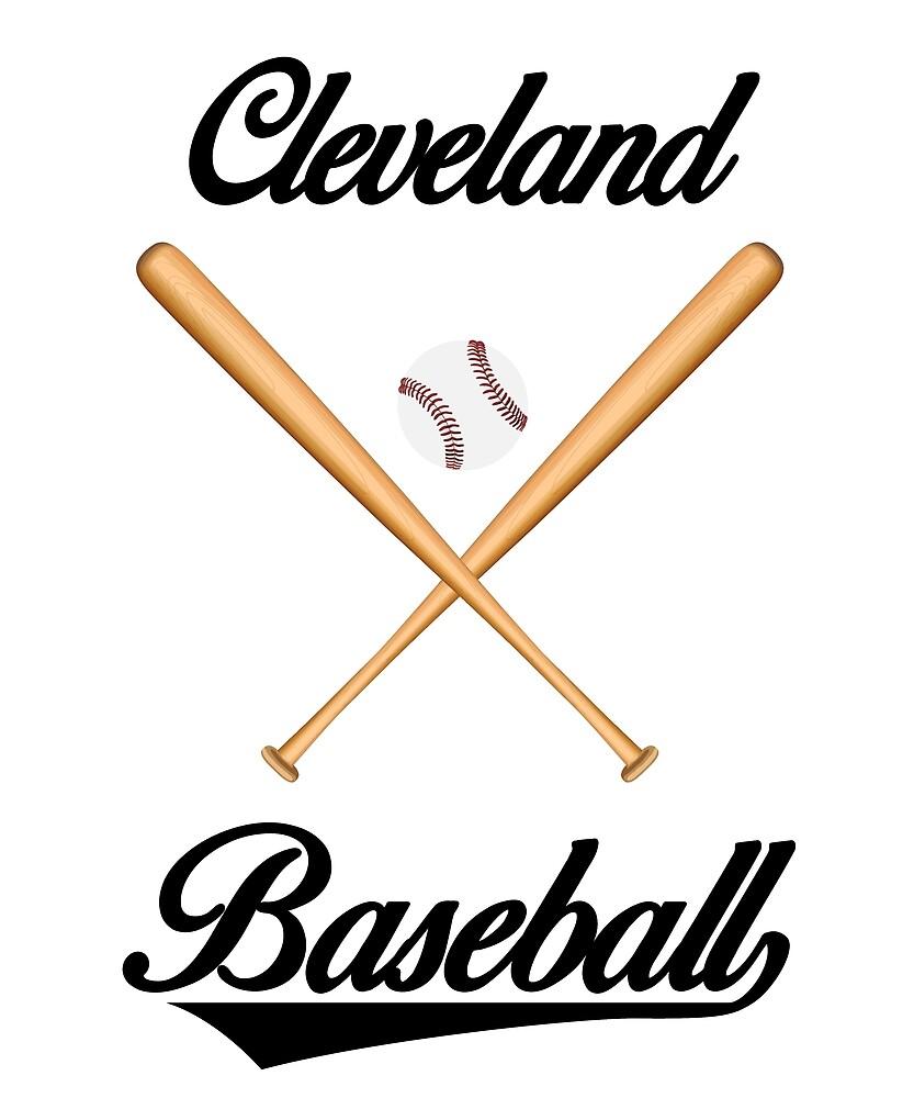 Cleveland Baseball T-Shirt for Men and Women by AllStarMerch