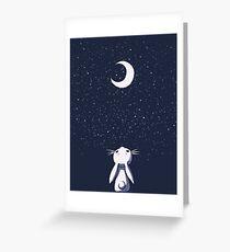 Rabbit Kawaii Greeting Card