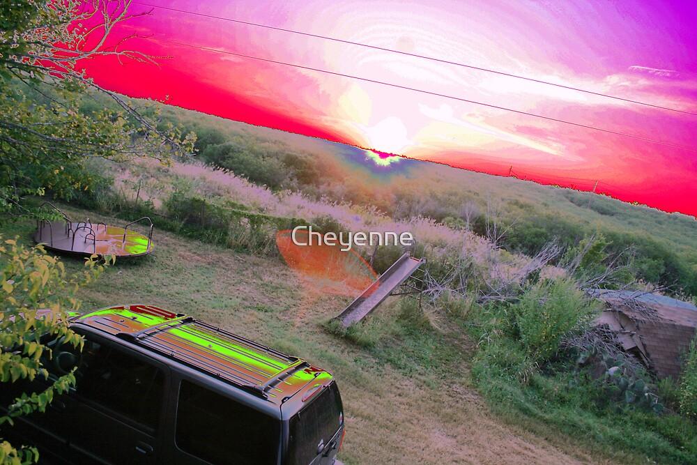 Colorful Awakening by Cheyenne