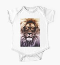 Hipster lion Kids Clothes